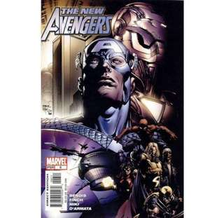 THE NEW AVENGERS #6 (2005) David Finch - Guest Artist STGCC 2018!