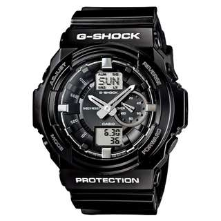 CASIO G-SHOCK GA-150 series GA-150BW 黑色 GSHOCK GA150BW