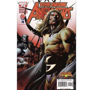 THE NEW AVENGERS #8 (2005) David Finch - Guest Artist STGCC 2018!
