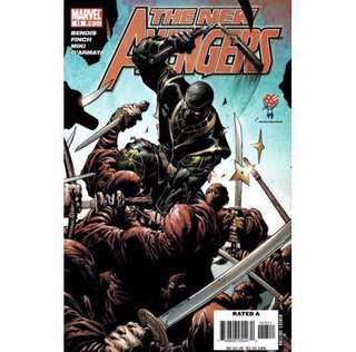 THE NEW AVENGERS #13 (2016) David Finch - Guest Artist STGCC 2018!