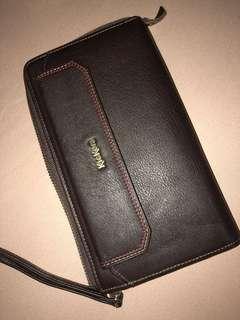 Genuine Leather Kickers Long Wallet (Unisex)