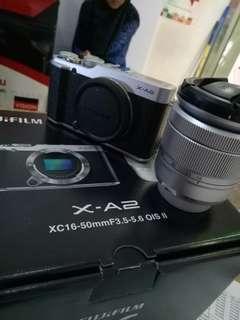 Fujifilm xa2 lensa 16-50mm