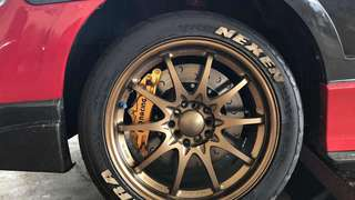 Ap racing 4pot 330mm Honda Civic Fd2r