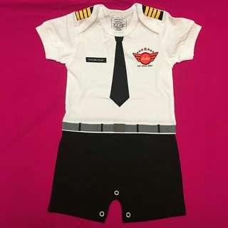 Airasia Pilot Baby Romper