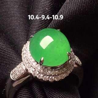 GZ-36陽綠戒指,完美,性價比,批發價:¥