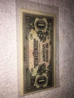 brand-new 2nd world war one dollar