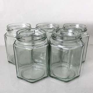 Hexagonal Jar 195 ml