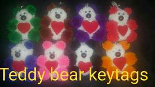 Hand made fashion keytags