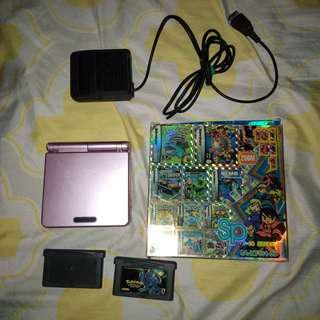 COMPLETE BUNDLE Gameboy Advance SP (AGS-001)