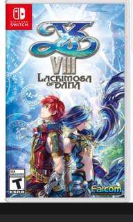 YS VIII (Nintendo Switch)