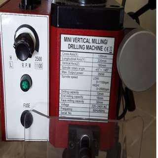 Mini Drilling and Milling Machine X2 SIEG