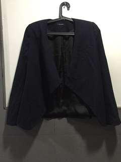 Authentic Promod Black/Navy Blue Blazer