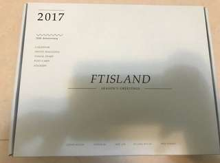 FTISAND 2017 season greeting 年曆