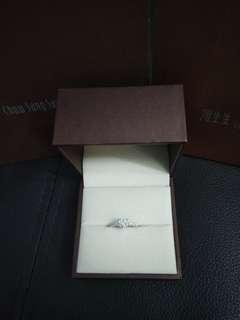 周生生鑽石戒指Lady Heart系列