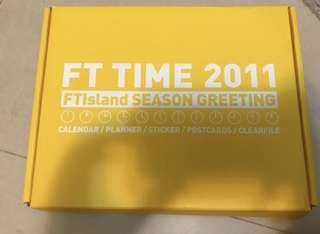 FTISLAND 2012 season greeting 年曆