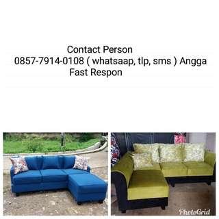 Sofa L Putus bisa di kredit