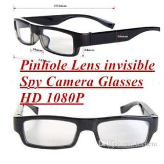 Spy Camera Glasses HD Discreet