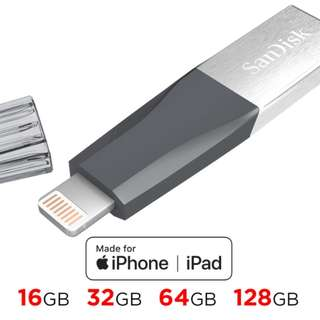 SanDisk iXpand mini Flash Drive USB3.0 16GB / 32GB / 64GB / 128GB
