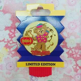 迪士尼襟章 2014 中秋節 達菲 Duffy Disney Pin LE300