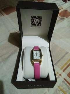 Authentic Anne Klein pink watch