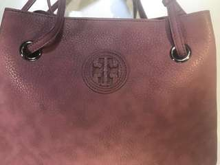 Auntentic Purple Tory Burch
