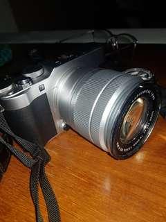 Fujifilm xa3 black hitam