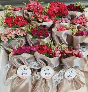 🚚 Nude color bunga rampai tag