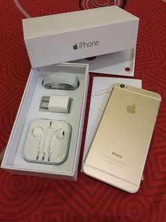 iPhone 6 32gb Globe Gold Complete