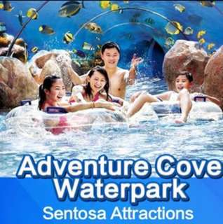 Immed issue: 1. Adventure Cove Waterpark attraction eticket at sentosa Open dated 1. S.E.A Aquarium 海洋馆 ( SEA ) Sentosa Physical ticket e Tickets etickets water park USS universal studio