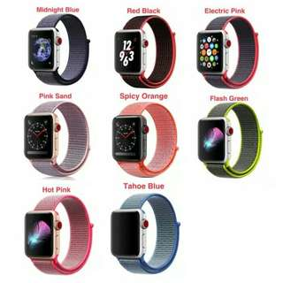 Strap Nylon Woven Loop iWatch Band for Apple Watch 42mm
