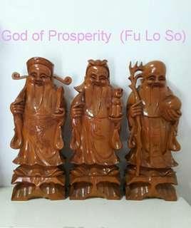 FU LO SOH God of Prosperity