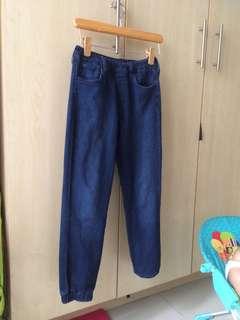 UniQlo blue jeans