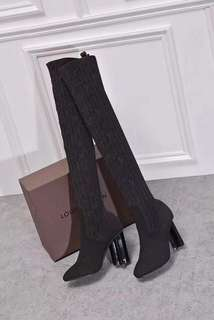 Louis Vuitton Sock-Boots Heels