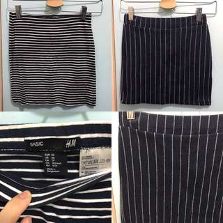 ($40for 2) Skirts x 2 pcs