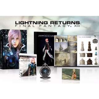 Final Fantasy XIII Lightning Returns Collectors Edition