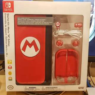 PDP Nintendo Switch  Starter Kit Mario M Edition