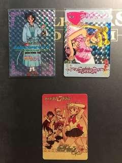 美少女戰士水野亞美中古閃卡、2015復刻閃卡、中古紙質卡(All BAIDAI Made in Japan)*合出狀態#SailorMoon