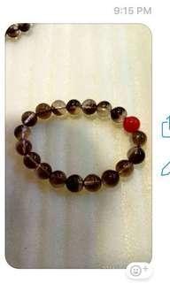 🚚 黑发晶 bracelet / Black Rutilated Quartz