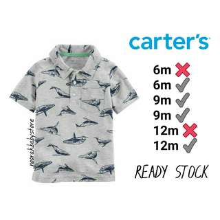 ORIGINAL CARTERS COLLAR T SHIRT