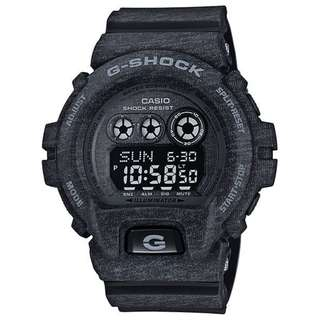 CASIO G-SHOCK 6900 x BIG CASE series GD-X6900 GD-X6900HT-1 黑色 GSHOCK GDX6900HT