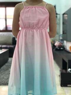 H&M Ombré Sun Dress