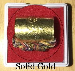 Ck Surasak Solid Gold Takrut Lokathat