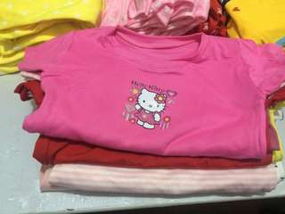 3 for Php 100 HELLO KITTY SHIRTS