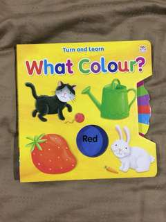 Buku BBW learn colour