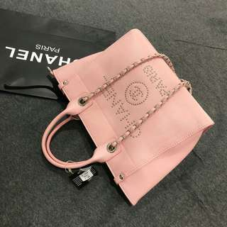 Chanel Shopping Tote Pink Color