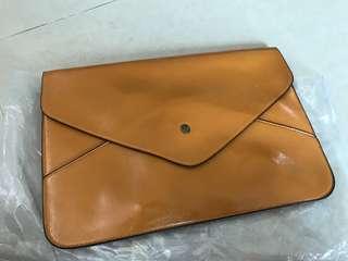 Envelope bags 信封形袋 (淺啡色)