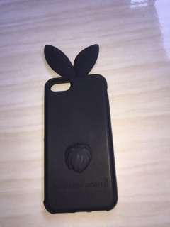 case kelinci warna Black