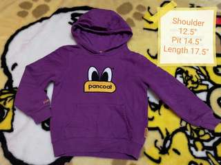 Pancoat kids hoodie non-zipper sweater
