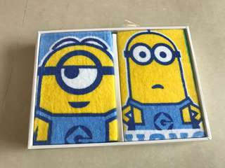 Minions towels gift box 小小兵毛巾禮盒