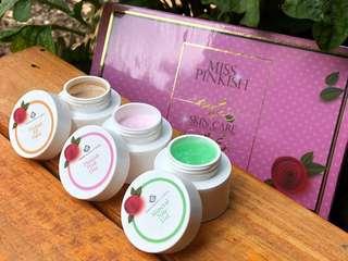 Pinkish whitening skincare
